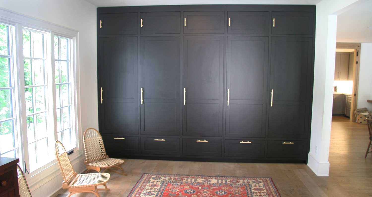 Finely Finished Woodworking - Custom Mudroom